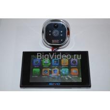 Видеоглазок с датчиком движения и цветным 5- дюймовым  монитором