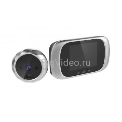 """Видеоглазок беспроводной Simpl 2,8"""" с записью фото и с углом обзора 90 градусов."""