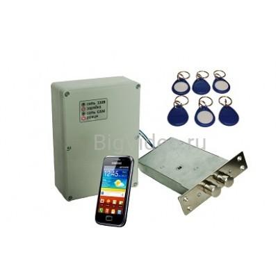Электронный замок  Атлант GSM с сигнализацией