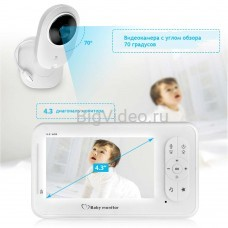 Видео няня baby monitor 4,3