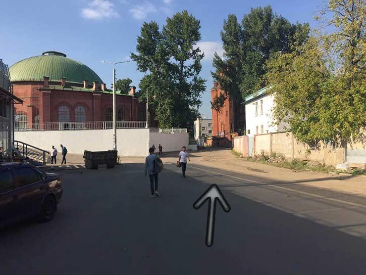 Камеры видеонаблюдения на Комсомольской