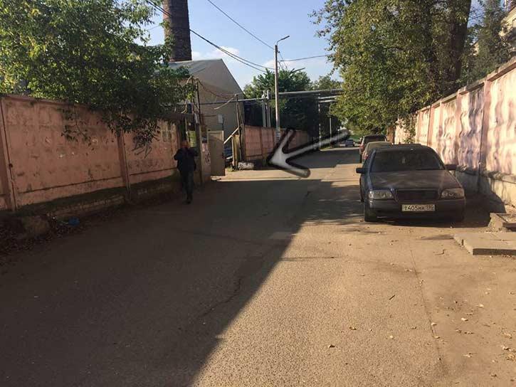 Видеодомофон на Комсомольской